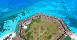 Ξηρό εθνικό πάρκο Tortugas, οχυρό Jefferson Φλώριδα ΗΠΑ Στοκ Εικόνες