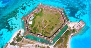Ξηρό εθνικό πάρκο Tortugas, οχυρό Jefferson Φλώριδα ΗΠΑ Στοκ φωτογραφίες με δικαίωμα ελεύθερης χρήσης