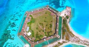 Ξηρό εθνικό πάρκο Tortugas, οχυρό Jefferson Φλώριδα ΗΠΑ Στοκ φωτογραφία με δικαίωμα ελεύθερης χρήσης