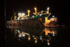 Ξηρό ελλιμενισμένο σκάφος Στοκ εικόνες με δικαίωμα ελεύθερης χρήσης