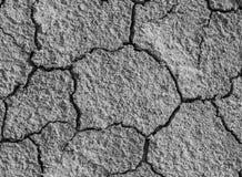 Ξηρό και ραγισμένο χώμα Στοκ φωτογραφίες με δικαίωμα ελεύθερης χρήσης