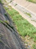 Ξηρό κανάλι ξηρασία Στοκ Εικόνα