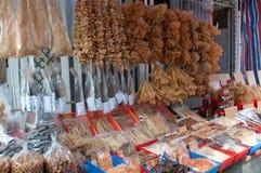 ξηρό κατάστημα θαλασσινών στοκ εικόνα με δικαίωμα ελεύθερης χρήσης