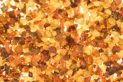 ξηρό κόκκινο πιπεριών νιφάδω&n Στοκ Φωτογραφίες
