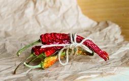 ξηρό πιπέρι τσίλι Στοκ Φωτογραφίες