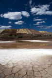 ξηρό τοπίο στοκ εικόνες
