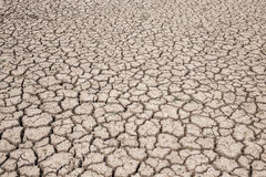 Ξηρό χώμα ξηρό Έδαφος ξηρασίας Στοκ Εικόνες