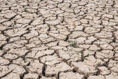 Ξηρό χώμα ξηρό Έδαφος ξηρασίας Στοκ Φωτογραφία