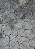 ξηρό χώμα ρωγμών Στοκ φωτογραφία με δικαίωμα ελεύθερης χρήσης