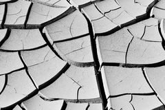 Ξηρό χώμα στην έρημο Στοκ Εικόνες