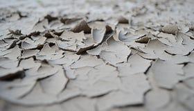 Ξηρό χώμα στον ποταμό στοκ εικόνες