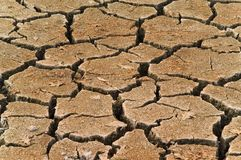 Ξηρό χώμα Στοκ εικόνα με δικαίωμα ελεύθερης χρήσης
