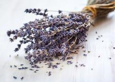 ξηρό lavender λουλουδιών δεσμών Στοκ εικόνες με δικαίωμα ελεύθερης χρήσης