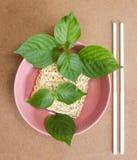 ξηρό noodle Στοκ Εικόνα