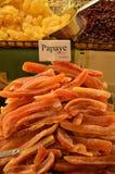 Ξηρό papaya Στοκ εικόνα με δικαίωμα ελεύθερης χρήσης