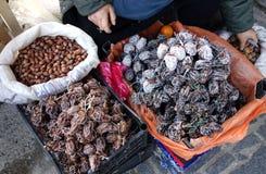 Ξηρό persimmon είναι ένας τύπος παραδοσιακού ξηρού - φρούτα στοκ εικόνες με δικαίωμα ελεύθερης χρήσης