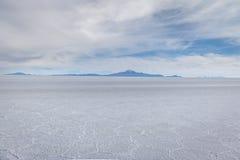 Ξηρό Salar de Uyuni αλατισμένο επίπεδο - τμήμα του Ποτόσι, Βολιβία στοκ φωτογραφία με δικαίωμα ελεύθερης χρήσης