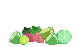 Ξινά φρούτα Στοκ Φωτογραφία