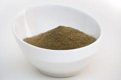 Ξινή γειωμένη sop σκόνη Graviola στοκ εικόνες