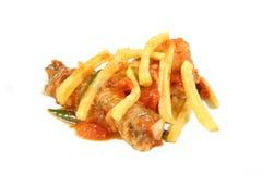 ξινό γλυκό κοτόπουλου Στοκ εικόνες με δικαίωμα ελεύθερης χρήσης