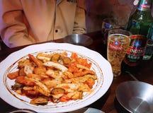 ξινό γλυκό χοιρινού κρέατος στοκ φωτογραφία με δικαίωμα ελεύθερης χρήσης