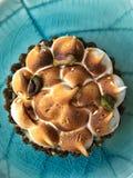 Ξινό κέικ λεμονιών στοκ φωτογραφία με δικαίωμα ελεύθερης χρήσης