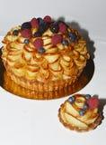 Ξινό κέικ της Apple Στοκ εικόνα με δικαίωμα ελεύθερης χρήσης