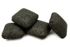ξυλάνθρακας ανθρακόπλινθων στοκ φωτογραφίες με δικαίωμα ελεύθερης χρήσης