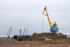 ξυλεία βιομηχανίας Στοκ φωτογραφίες με δικαίωμα ελεύθερης χρήσης