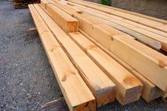 ξυλεία πεύκων Στοκ Φωτογραφία