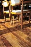 ξυλεία πλατύφυλλων πατω& Στοκ Εικόνες