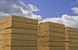 ξυλεία που αλέθεται Στοκ Εικόνες