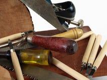 ξυλουργική εργαλείων Στοκ εικόνα με δικαίωμα ελεύθερης χρήσης