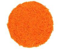 Ξυμένα καρότα Στοκ εικόνα με δικαίωμα ελεύθερης χρήσης