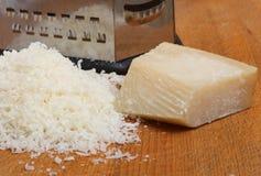 ξυμένη τυρί παρμεζάνα στοκ φωτογραφία