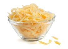 Ξυμένο τυρί Στοκ εικόνα με δικαίωμα ελεύθερης χρήσης