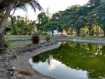 Ξυπνήστε τις λίμνες στοκ φωτογραφία με δικαίωμα ελεύθερης χρήσης