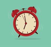 Ξυπνητήρι, ξυπνήστε χρόνος Στοκ εικόνα με δικαίωμα ελεύθερης χρήσης