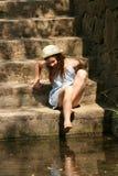 ξυπόλυτο κορίτσι Στοκ φωτογραφίες με δικαίωμα ελεύθερης χρήσης