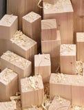 Ξυρισμένα ξύλινα μέρη Στοκ Φωτογραφία