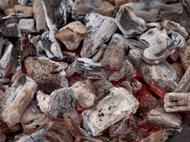 Ξυλάνθρακας σχαρών Στοκ Εικόνα