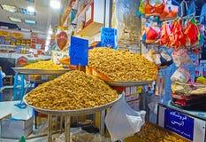 Ξύλα καρυδιάς στην Τεχεράνη μεγάλο Bazaar Στοκ Φωτογραφία