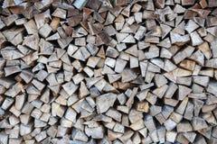 Ξύλινα κούτσουρα για το γραφικό σχέδιο Στοκ Εικόνα