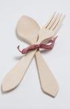 Ξύλινα μαχαιροπήρουνα Στοκ Φωτογραφία