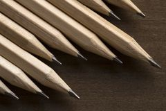 Ξύλινα μολύβια στοκ φωτογραφία με δικαίωμα ελεύθερης χρήσης