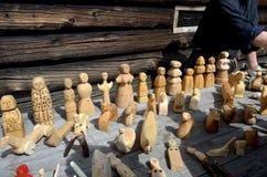Ξύλινα παιχνίδια Καρελία στοκ εικόνες με δικαίωμα ελεύθερης χρήσης