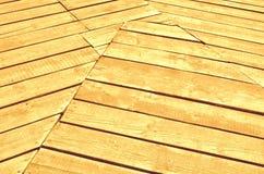 Ξύλινα ριγωτά γεωμετρικά σχέδια πινάκων Στοκ εικόνα με δικαίωμα ελεύθερης χρήσης