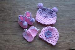 Ξύλινα στοιχεία μωρών νημάτων τσιγγελακιών στοκ εικόνες με δικαίωμα ελεύθερης χρήσης