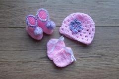 Ξύλινα στοιχεία μωρών νημάτων τσιγγελακιών στοκ εικόνα με δικαίωμα ελεύθερης χρήσης