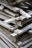 Ξύλινα slats Στοκ εικόνες με δικαίωμα ελεύθερης χρήσης